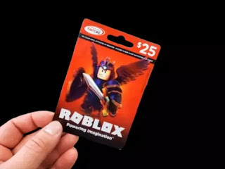 Robux gift card
